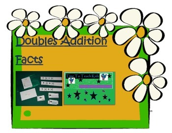 Doubling Addition Facts Math Center - Digital Download