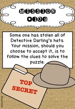 Doubling Detectives Task Cards {year2tastic}