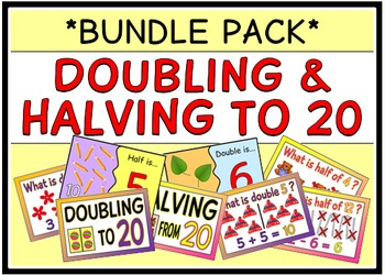 Doubling & Halving to 20 (BUNDLE PACK)