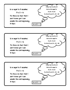 Doubling Learning the 6 Facts from the 3 Facts Student Booklet