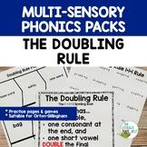 Orton-Gillingham Spelling Rule: The Doubling Rule