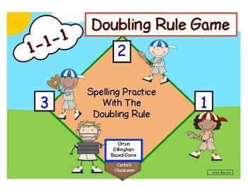 Doubling Rule Spelling Game