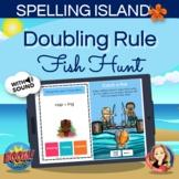 Doubling Spelling Rule Boom Card Hunt Game