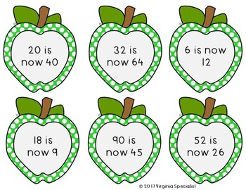 Doubling or Halving Apple Sort