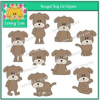 Dougal Dog CU Clipart