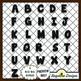 Dough Alphabet Value Pack {Neutrals}