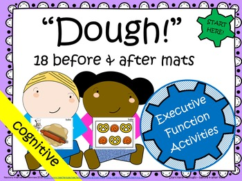 """Before & After"" with Play Dough"