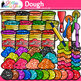 Playdough Clip Art | Glitter Craft-Dough for Mat Activities and Centers