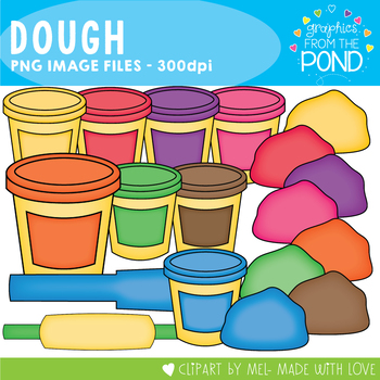 Dough - Clipart for Teachers and Classrooms