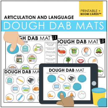 Dough Dab Mats: Langauge and Articulation