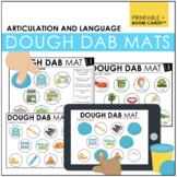 #June2020HalfOffSpeech Dough Dab Mats: Langauge and Articu