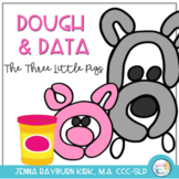 Dough & Data Mats: The Three Little Pigs