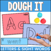 Dough It Alphabet and Sight Word Fine Motor Skills Activities