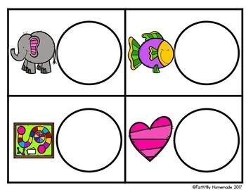 Alphabet Activity Center {Dough Letter Match}