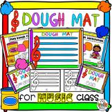 Dough Mat Station (Treble Clef)