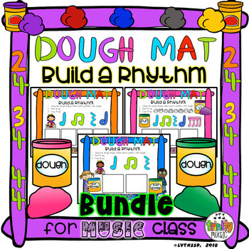Dough Mats (Build a Rhythm) BUNDLE