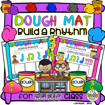 Dough Mats (Build a Rhythm in 3)