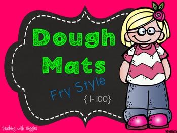 'Dough' Mats {Fry Style- First 100}