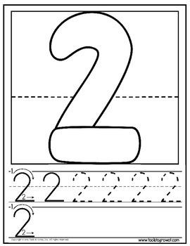 Dough Mats - Numbers