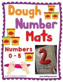 Dough Mats - Numbers