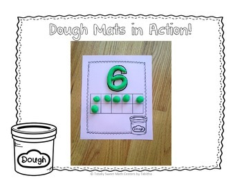 Dough Mats- Numbers and Words 1-10