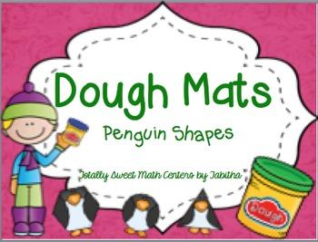 Dough Mats- Penguin Shapes