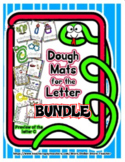 Dough Mats for the Letter Bundle - Splat It Mash It - Font