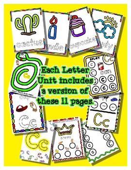 Dough Mats for the Letter E - Splat It Mash It - Font Match - Simple Maze & More