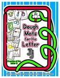 Dough Mats for the Letter J - Splat It Mash It - Font Matc