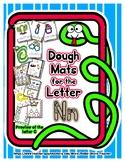 Dough Mats for the Letter N - Splat It Mash It - Font Matc