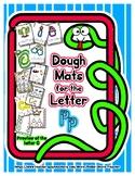 Dough Mats for the Letter P - Splat It Mash It - Font Matc