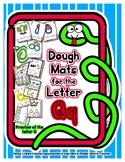 Dough Mats for the Letter Q - Splat It Mash It - Font Matc