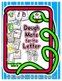 Dough Mats for the Letter T - Splat It Mash It - Font Matc