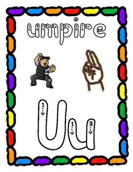 Dough Mats for the Letter U - Splat It Mash It - Font Match - Simple Maze & More