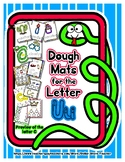 Dough Mats for the Letter U - Splat It Mash It - Font Matc