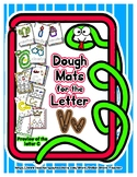Dough Mats for the Letter V - Splat It Mash It - Font Matc