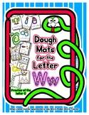 Dough Mats for the Letter W - Splat It Mash It - Font Matc