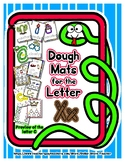 Dough Mats for the Letter X - Splat It Mash It - Font Matc