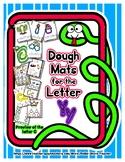 Dough Mats for the Letter Y - Splat It Mash It - Font Matc