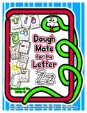 Dough Mats for the Letter Z - Splat It Mash It - Font Matc
