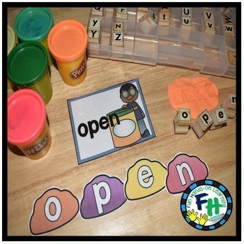 Dough Sight Word Center {EDITABLE}