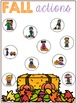 FALL and THANKSGIVING Playdough and Dot Marker Activities for Speech Therapy