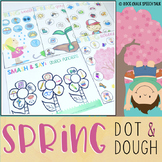 SPRING Low/No Prep Playdough and Dot Marker Activities for