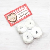 Doughnt Party Treat Bag Toppers, Donut Bag Topper for Teacher Appreciation Week