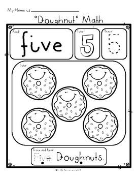 Doughnut Number Sense / Ten Frame