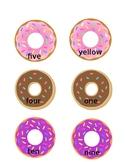 Doughnut Sight Words