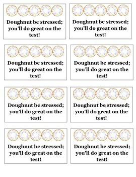 Doughnut Testing Encouragement Treat