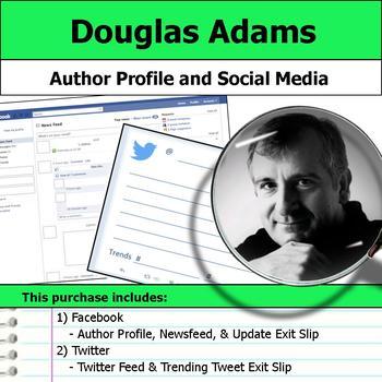 Douglas Adams - Author Study - Profile and Social Media