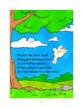 Dove - An ebook that teaches values, writing, reading and comprehension