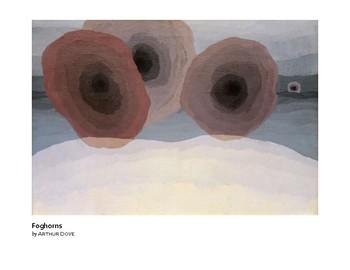 Dove Foghorns Abstract Art Grades 5-6